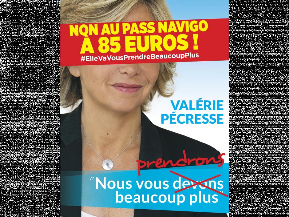 Signez la pétition contre la hausse du pass #Navigo à 85 euros adressée à #Pecresse #ElleVaVousPrendreBeaucoupPlus