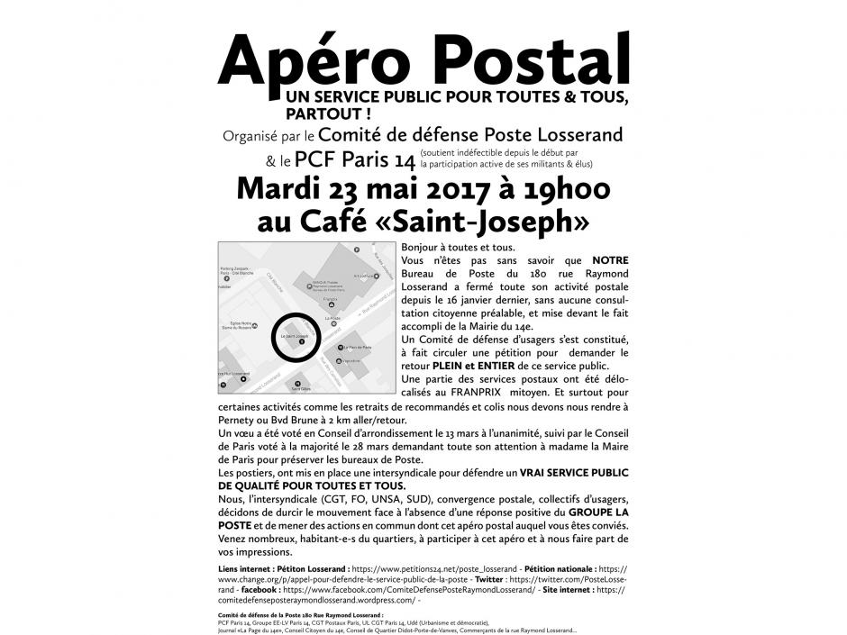 Apéro Postal au