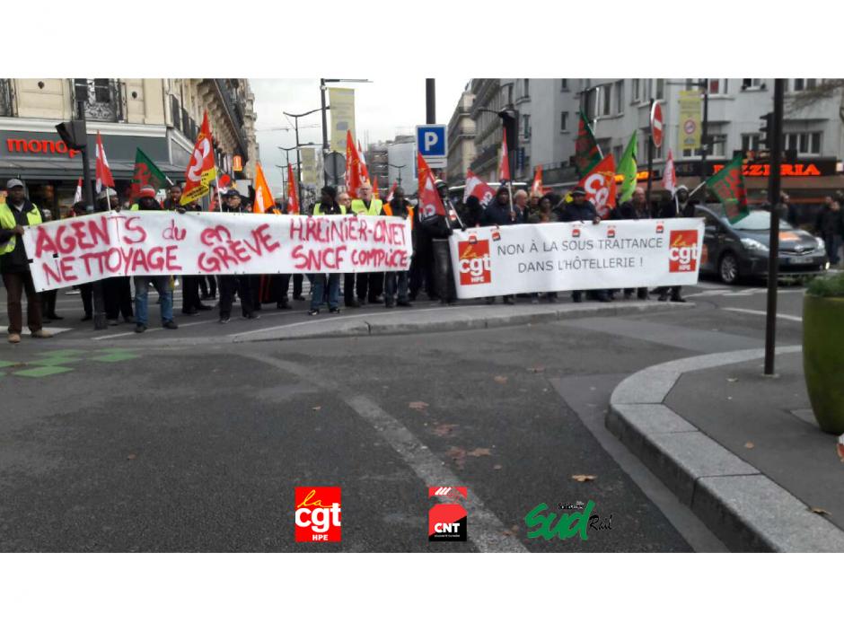 [Paris] Manifestation unitaire contre la sous-traitance et les ordonnances MACRON Mardi 12 décembre à 12h!