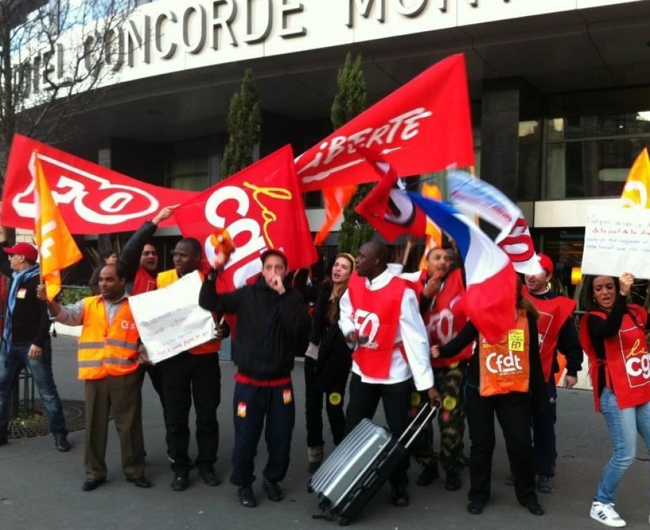 Le PCF soutient la grève des salariés du Concorde-Montparnasse