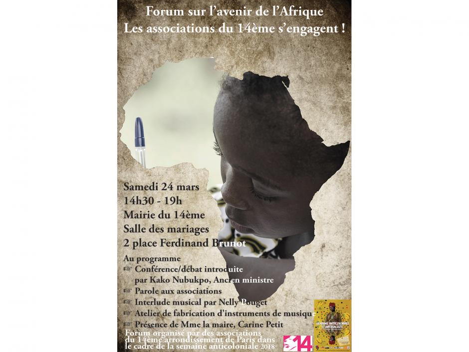 Forum sur l'avenir de l'Afrique Les associations du 14ème s'engagent!