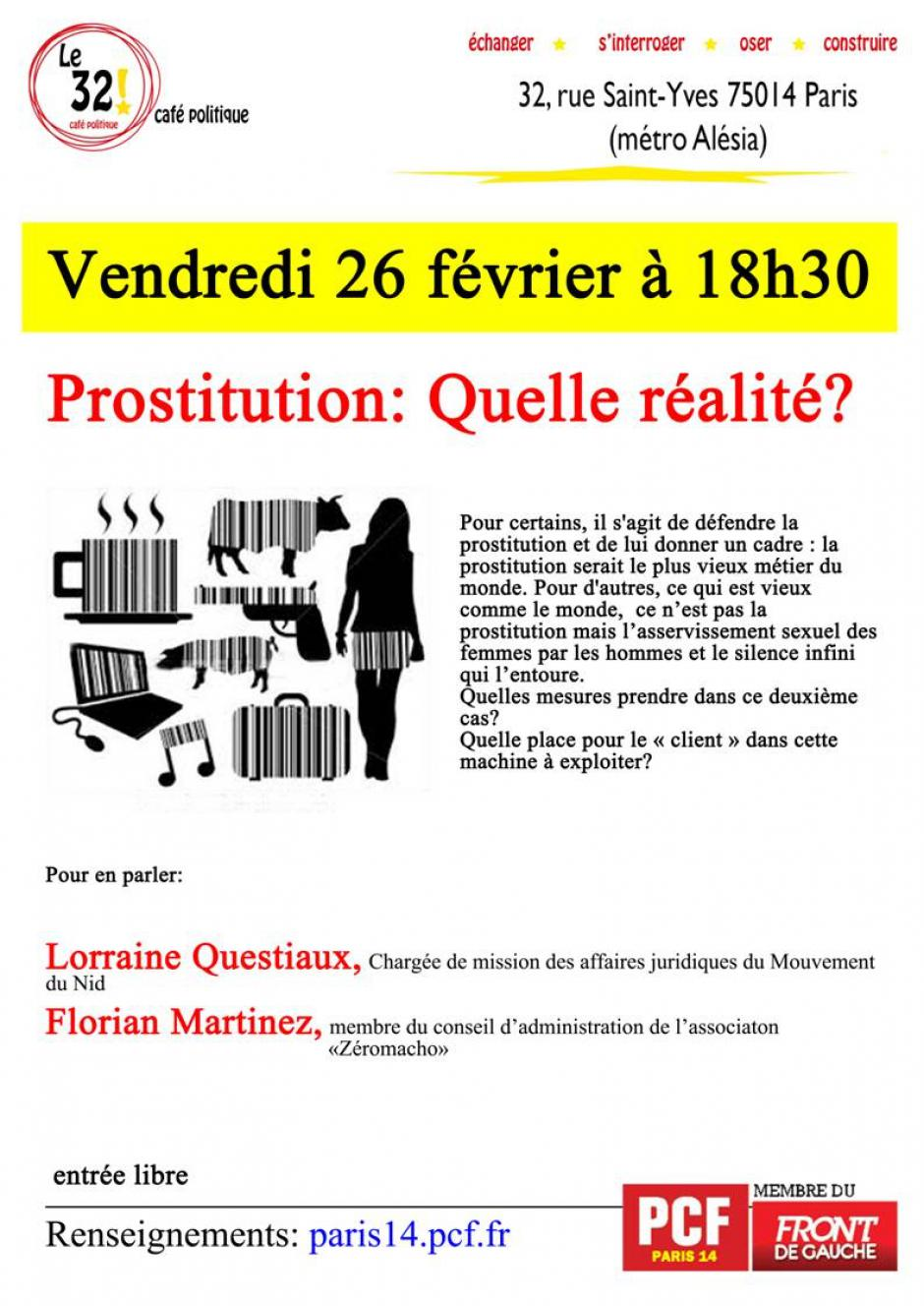 rue des prostituées paris