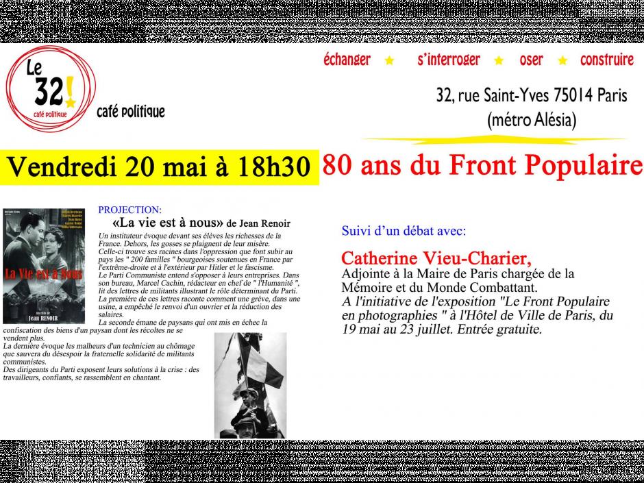 80 ans du Front Populaire