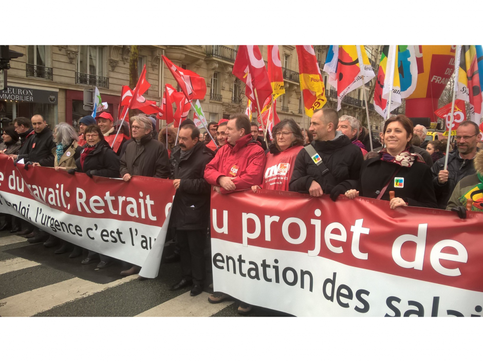 Le gouvernement pratique le dialogue de sourds!  Communiqué commun CGT – FO – FSU – Solidaires – UNEF – FIDL – UNL  du 15 juin 2016