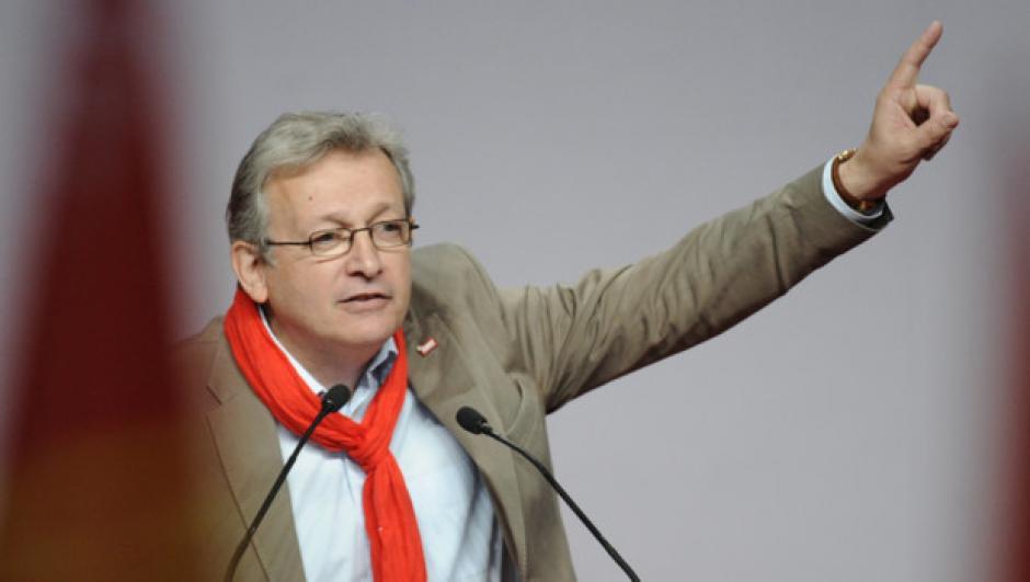 Conférence de presse du 25 avril 2017 de Pierre Laurent