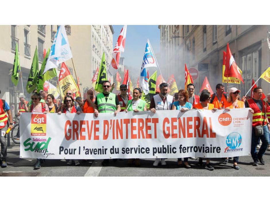 APPEL Dette de la SNCF et développement des services publics: l'argent des banques et de la BCE pour les services publics, pas pour la finance! Signez l'Appel