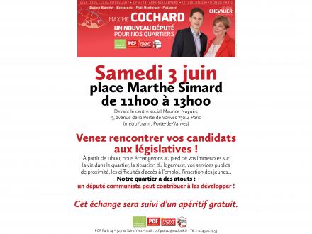 Rencontre avec Maxime Cochard, Candidat sur la 10ème circonscription