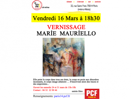 Vernissage par Marie Mauriello